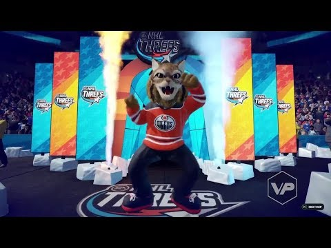 NHL 18 3v3 Mascot Gameplay
