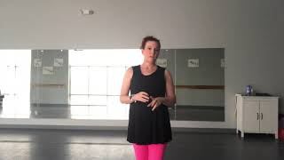 Balance', pirouette & arabesque