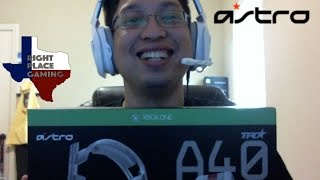 Astro A40 and Mixamp Pro TR Unboxing & Review (Xbox One)