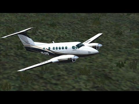 FSX - [LIVE] SANTA MARIA PARA PORTO ALEGRE  KING AIR B200 - SBSM-SBPA