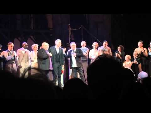 """Side Show"" Final Performance Curtain Call Speech by Bill Condon & Cast Performance (1/4/15)"