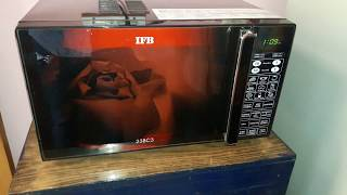 how to use ifb microwave 23BC3 full demo