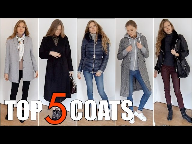 Top 5 Autumn Winter Coats |TheMoments