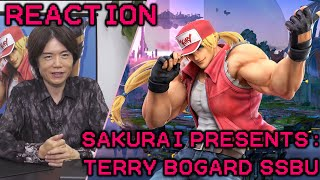 Sakurai Presents: Terry Bogard Reaction