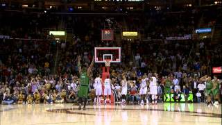 Jeff Green Lays In the Game-Winner in Cleveland!