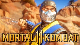 "THE BEST LOOKING SCORPION IN MK11 SO FAR! - Mortal Kombat 11 Online Beta: ""Scorpion"" Gameplay"