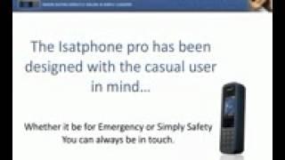 Why Inmarsat Sat Phone