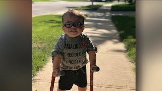 Video of 2-year-old boy learning to walk inspires millions