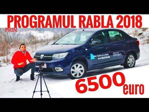Dacia Logan PERFECTA pentru PROGRAMUL RABLA 2018! 6500EURO Vlog auto S2E13