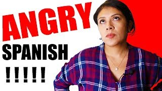 Learn ANGRY Spanish Words: Beginner Lessons