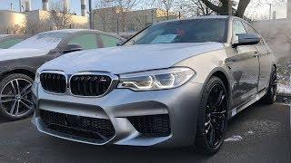 First 2018 BMW M5 F90 (sound/quick shot)
