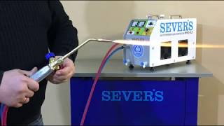 Oxyhydrogen gas generator SEVER'S HHO-G3/ Custom manufacturing!!