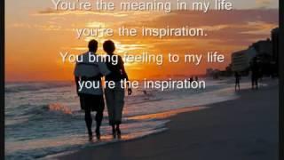 Chicago   You're The Inspiration Lyrics