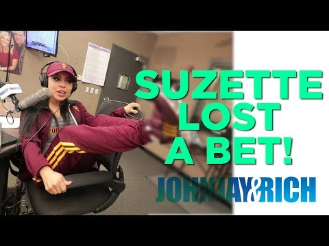 In-Studio Videos - Suzette Vs Delaney: BET PAYOFF! (Sun Devils Vs Wildcats)