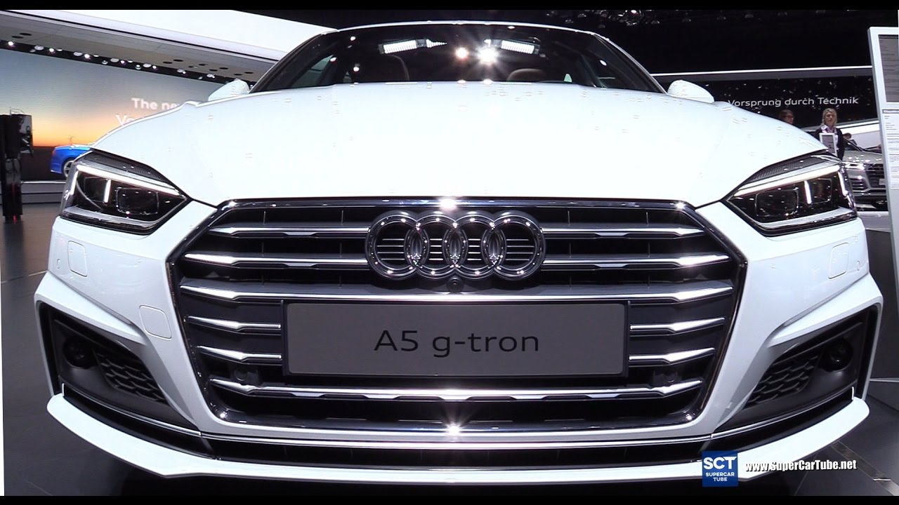 2018 audi a5 g tron exterior interior walkaround debut. Black Bedroom Furniture Sets. Home Design Ideas