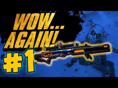 WOW...RIDICULOUS LUCK AGAIN?!! Road to OP8 Krieg - Day 1 [Borderlands 2]