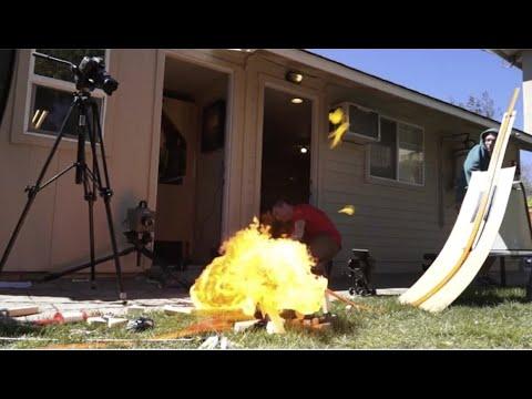 Building the Hot Wheels Stunt Race