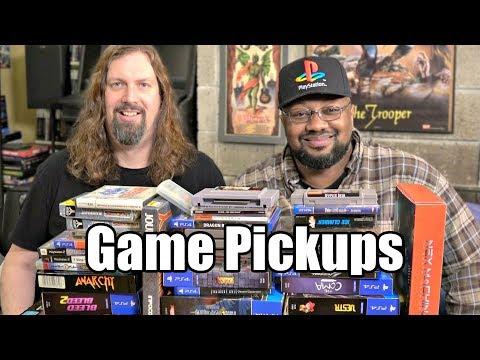 Recent GAME Pickups - 49 Games from Metal Jesus & Reggie