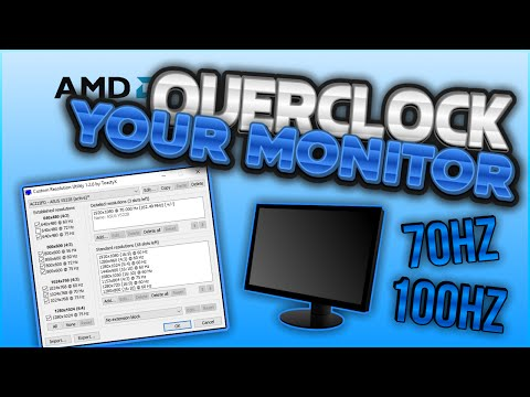 How to Overclock Your Monitor w/ Custom Resolution Utility