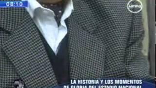 El hombre detrás de la historia Estadio Nacional de Lima
