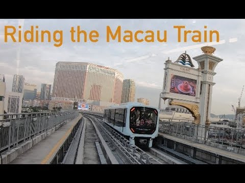 Macau Light Rail Transit [MLRT]: Entire Train Experience - 25 minutes