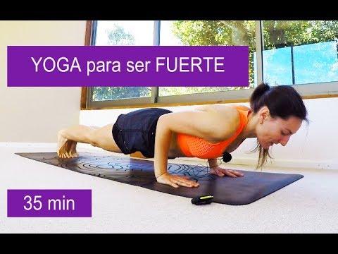Yoga para fortalecer cuerpo 35 min | Dinámico fluido con Elena Malova