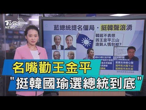 【說政治】名嘴勸王金平 「挺韓國瑜選總統到底」