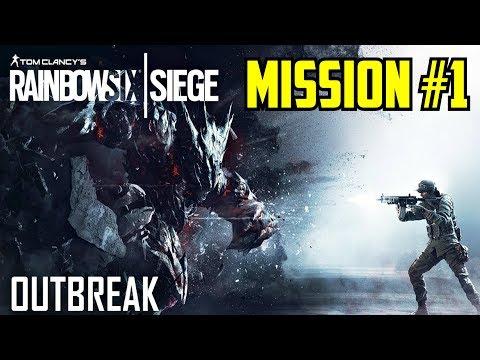 Rainbow Six Siege Outbreak Gameplay Walkthrough Part 1  Serra Verterans Wing Mission 1