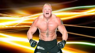 WWE : Brock Lesnar 7th Theme Song + Arena Effects 2016