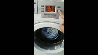 Arçelik 7103 HT Çamaşır Makinesi Test Programı ve Resetleme