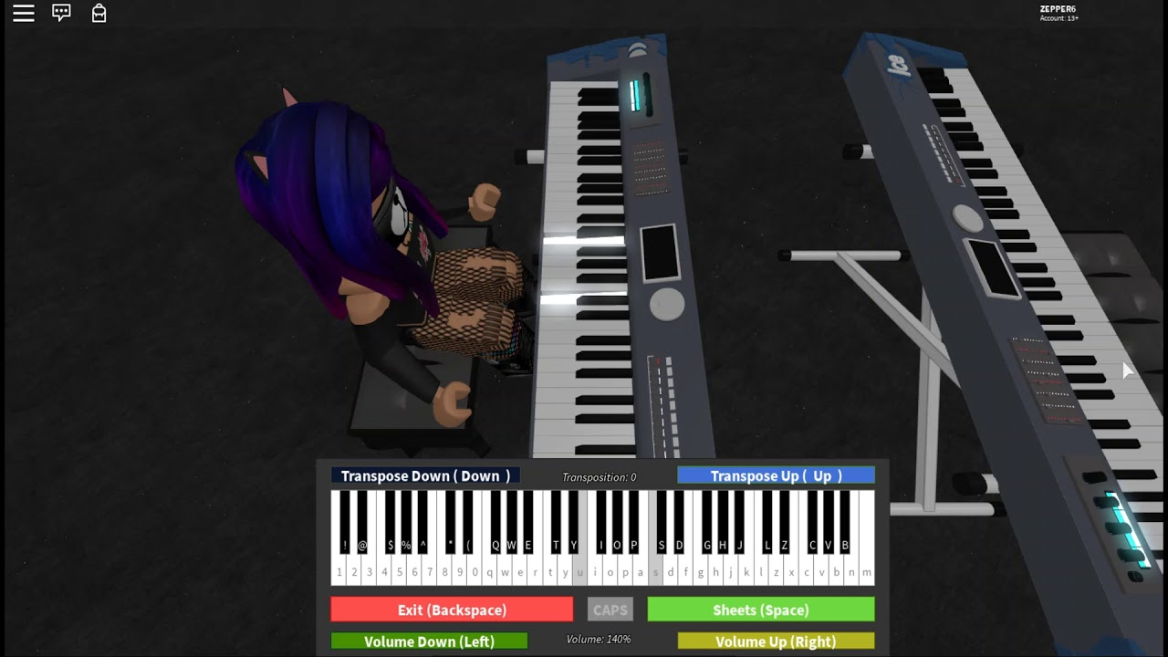 7 Years Old Roblox Piano Sheet