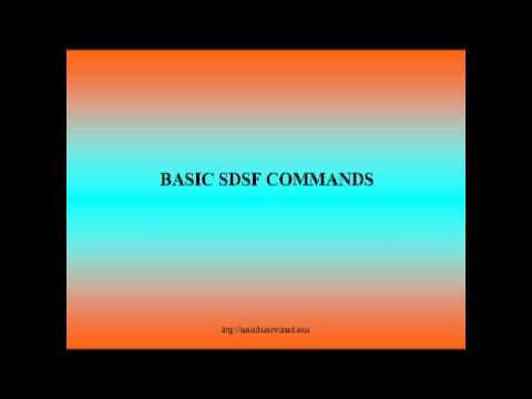 BASIC SDSF COMMANDS BY MAINFRAMEWIZARD.COM