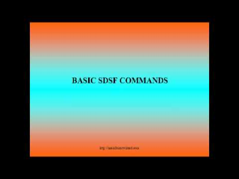LIST OF BASIC SDSF COMMANDS MAINFRAMES