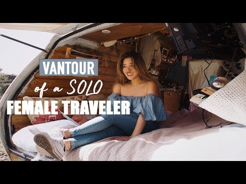 VAN TOUR - Of A Solo Full Time Female Traveler