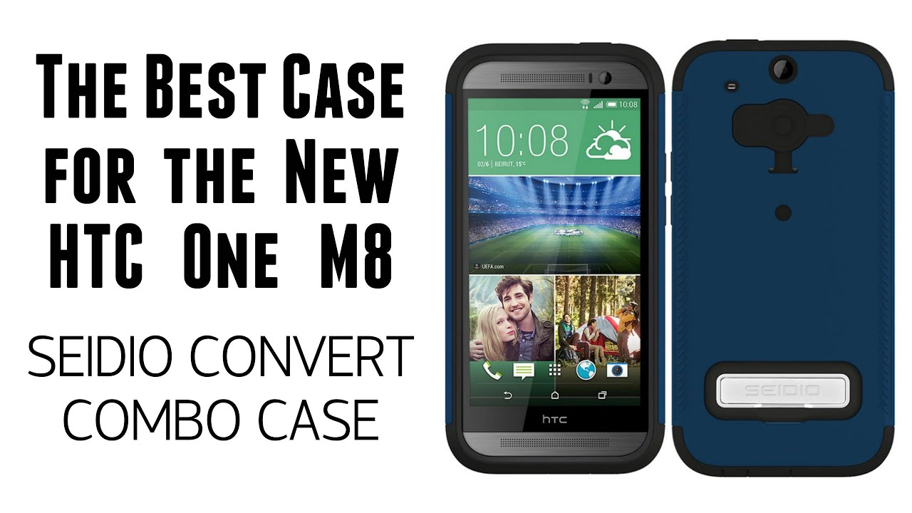The Best Case For The Htc One M8 Seido Convert Combo