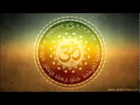 Om 3d Wallpaper Hd Instrumental Gayatri Mantra Flute Sitar Amp Santoor