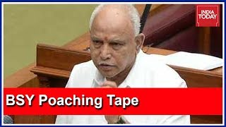Congress Protests Outside Karnataka Assembly Over BSY's Poaching Audio