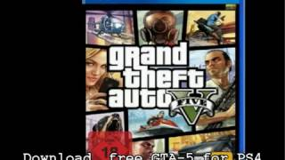 free download GTA-5 PS4 ISO Complete file