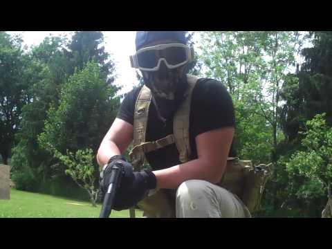 Airsoft Backyard War combative airsoft backyard war 6-2-13