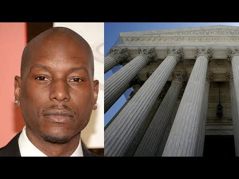 Tyrese Skips Custody Court Hearing To Keep His Daughter. He Has Lawyer Stand in for Him. SMH