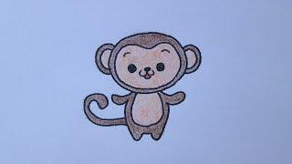 Cómo dibujar un mono