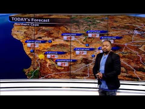 #SA Weather Report   27 July 2019