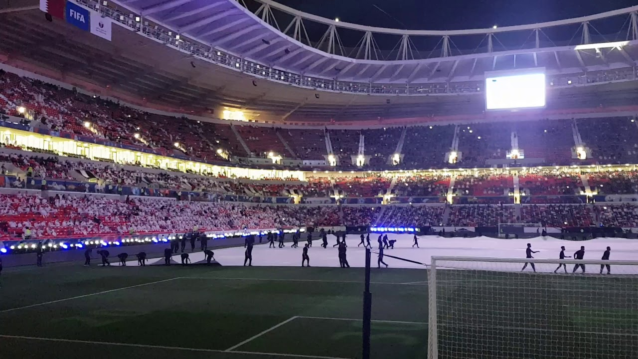 Download Al-Rayyan stadium opening ceremony on Dec18 2020