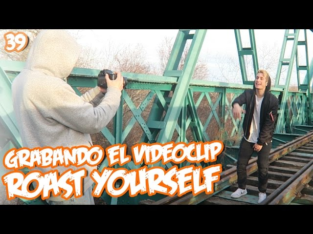 GRABANDO EL VIDEOCLIP DE MI ROAST YOURSELF