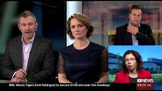 ABC Weekend Breakfast - 15 June 2019 - unions, Men's Health Week