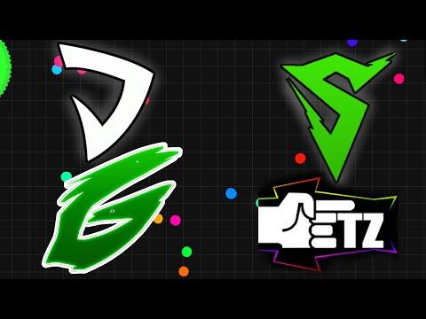 Sirius & Ghost vs. ETZesty & Dandy // Official Agario Match (Agar.io)