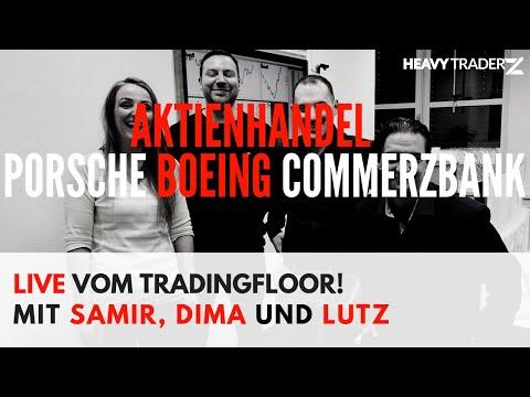 DAX Jahreshoch 11.800: Porsche-Boing-Commerzbank-ZEW Zahlen