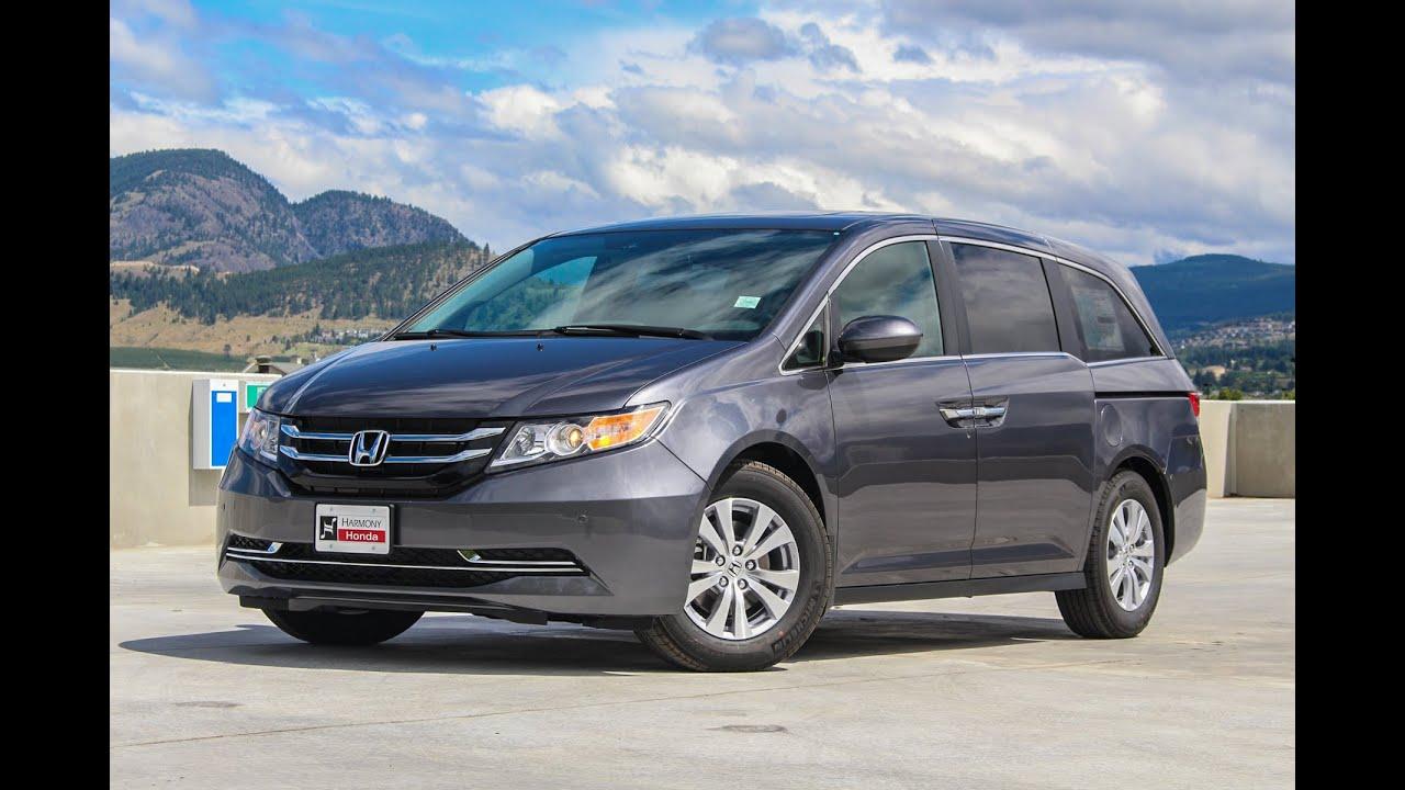 NEW 2016 Honda Odyssey Review Harmony Honda Kelowna BC