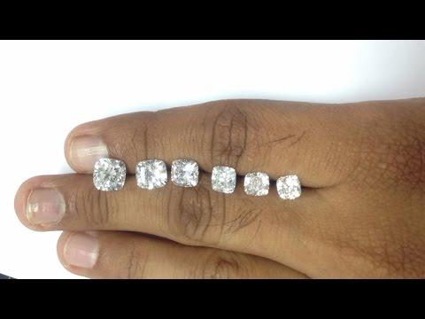 Diamond Size Comparison Of Round Shape 1ct Live Demo