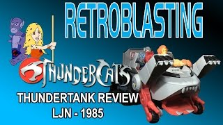 thundercats thundertank vintage toy review ljn 1985